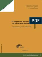 Diagnostico Institucional en Las Escuelas Normales