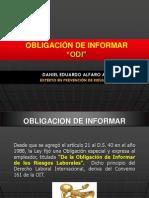 Obligacion de Informar (ODI) DS 40