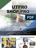 CutPro Shop Pro Brochure