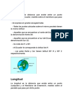 Desarrollo coordenadas geograficas