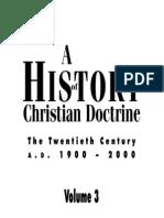 A History of Christian Doctrine
