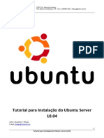 Tutorial Instalacao Linux Ubuntu Server
