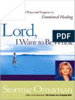 Lord, I Want to Be Whole - Stormie Omartian