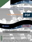 PAN Reforma Política y Electoral