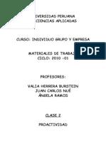 C2 Material Proactividad