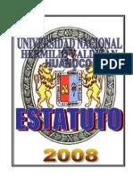 PLAN 10411 Estatuto de La UNHEVAL- Vigente 2011