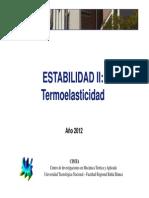 termoelasticidad2012 FORMULARIO