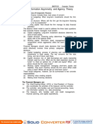 making capital investment decisions pdf editor