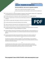 cap eligibility requirements spanish