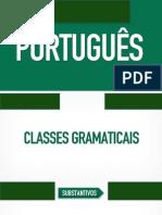 Português - Aula 04 - apresentacao-classes-gramaticais