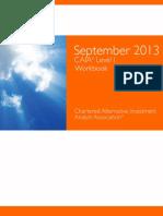 test Sept 2013 Level i Workbook