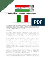 5 de Fevereiro - Province Unite Italiane