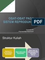 Obat-Obat Pada Sistem Reproduksi PSIK