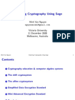 Crypto With Sage