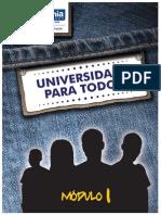 Módulo I -Universidade para Todos-2012