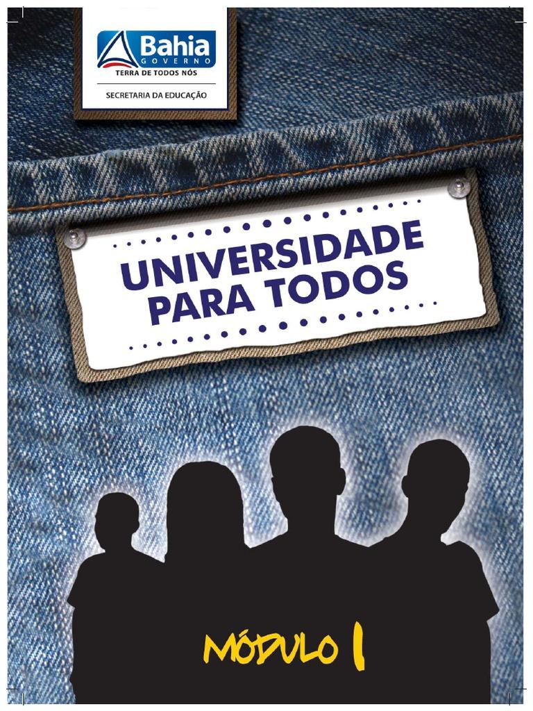 Módulo I -Universidade para Todos-2012 741587176c