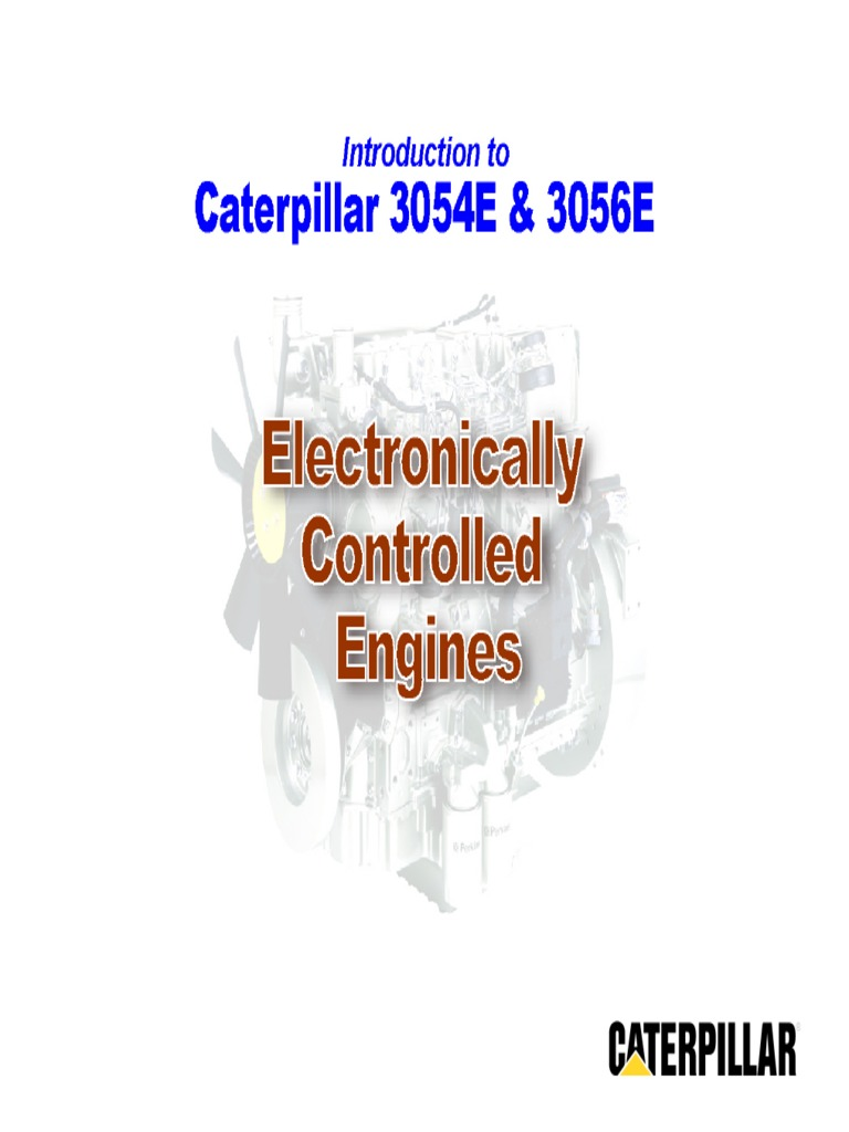 3056e Cat Ecm Pin Wiring Diagram Electrical Diagrams 3126 3054e Electronico Con Vp 30 Ingles Connector Switch