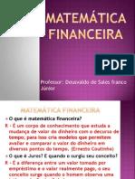Aula de Matematica Financeira Aula 01