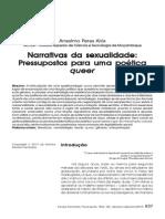narrativas da sexualidade_pressupostos para uma poética queer