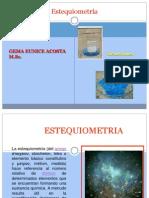 Estequiometria Clase 8 Presentacion2013-2