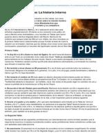 El Decalogo Divino, La Historia Interna