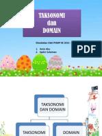 Taksonomi & Domain (1) AMIN & SYAHIR