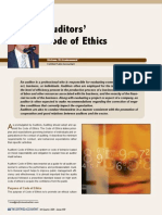 Ethics for Auditors