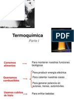 Termoquímica I