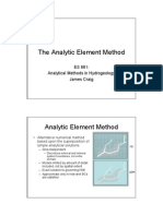 The Analytic Element Method - Analiticki Elementi i Superpozicija !!!!