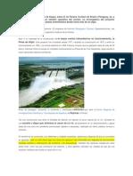 La Represa Hidroeléctrica de Itaupú