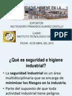 Ponencia Sobre Seguridad e Higiene Industrial