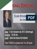 Devocional Com Elder Snow -Rio de Janeiro