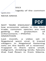 January 2013 the Hindu Editorials