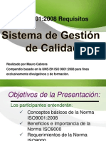ISO 9001 SGC Presentacion
