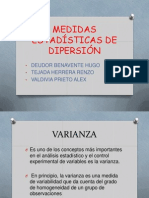 Medidas Estadisticas de Dispersion (1)