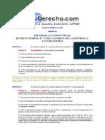 decreto número 30-2001 del congreso de la república