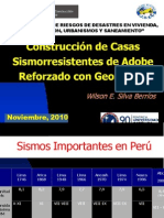 Adobe Reforzado Con Geomalla