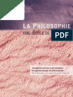 La Philosophie, une Ecole de la Liberté