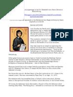 Spiritual and historical pilgrimage to the St. Elizabeth Ann Seton Shrine in Emmitsburg