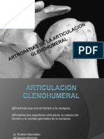 Artropatias de La Articulacion Glenohumeral