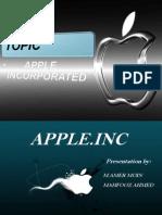 Apple Inc Presentation