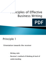 PPT on Effective Business Writing