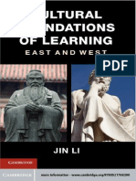 Cultural Foundations of Learning - East and West
