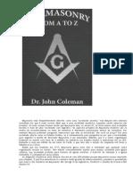 John Coleman - Maconaria Da a a Z