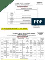 Revised M.E M.tech Time Table II Sem Sep 2013