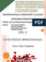 Estrategias Operacionales