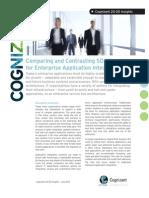 Comparing and Contrasting SOA Variants for Enterprise Application Integration