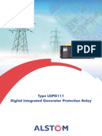 Alstom - Digital Integrated Generator Protection Relay