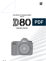 Nikon D80 Spanish