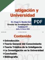 Investigacion y Universidad